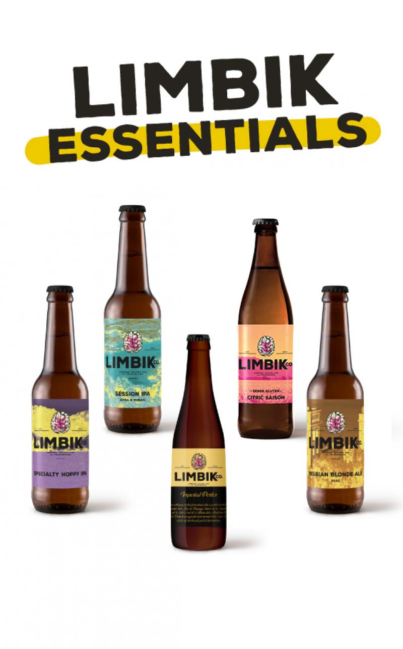 Limbik Essentials - Caixa de 12u
