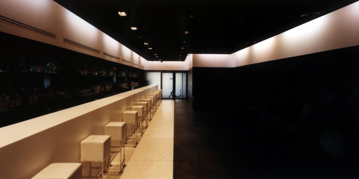 Interiors de la discoteca pub LUX cafè (Girona)