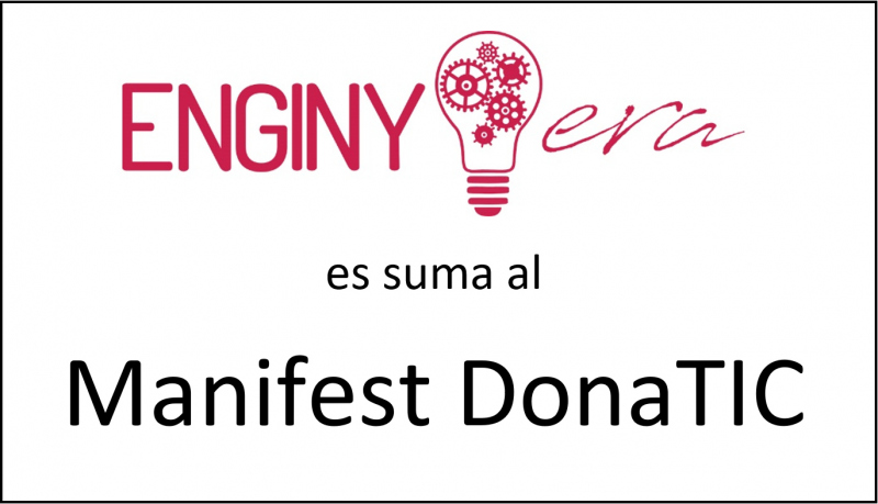 ENGINY-era es suma al Manifest Dona TIC