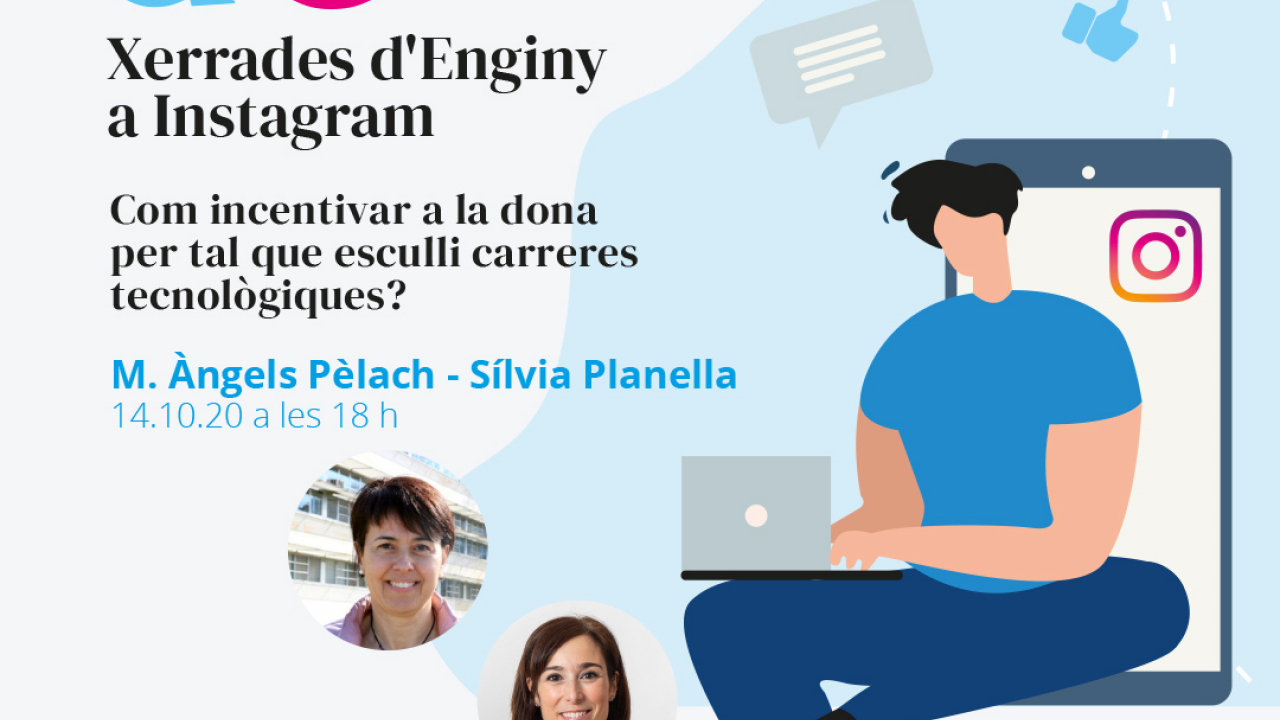 """ENGINY-era participarà en la xerrada del 14 d'octubre """"Com incentivar a la dona per tal que esculli carreres tecnològiques?"""""""