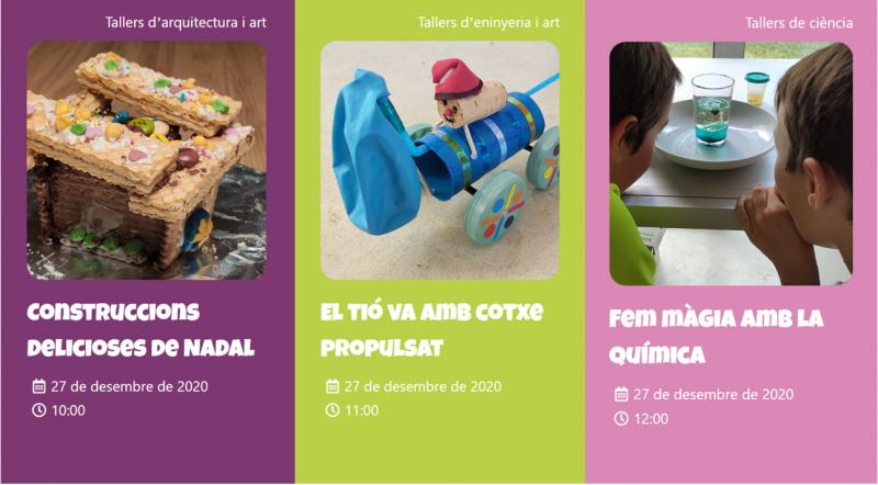 Demà ENGINY-era farà 3 tallers STEAM en directe per a tots els infants de Figueres!