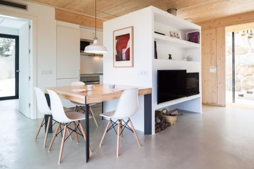 Model H: Casa prefabricada de fusta, moderna i modular a mida