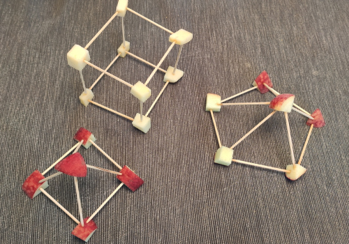 And for snack: structures with fruit