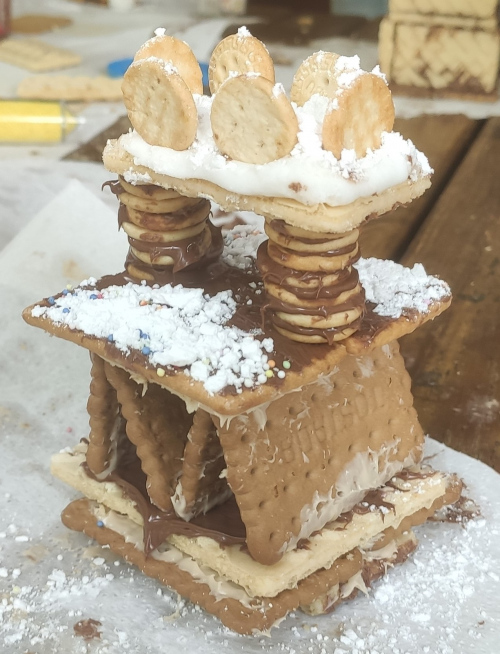 What an original and so good structure! mmmmm ....