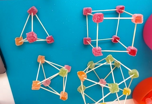We have built the polyhedra that according to Plato were fire, water, air, earth and the universe