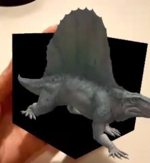 Tenim un dinosaure 3D a les nostres mans!