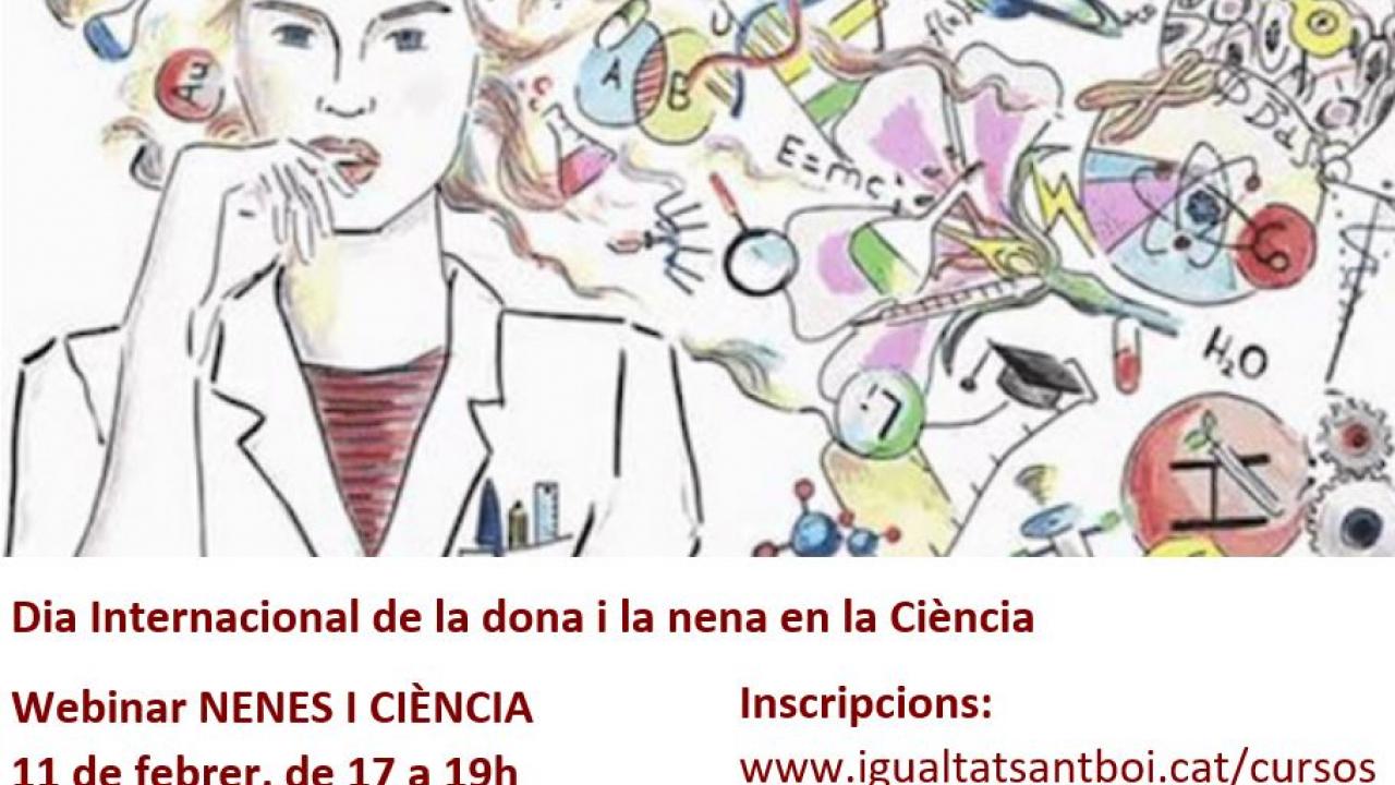 """Apunta't al webinar """"NENES I CIÈNCIA"""" d'ENGINY-era ofert per l'Ajuntament de Sant Boi"""