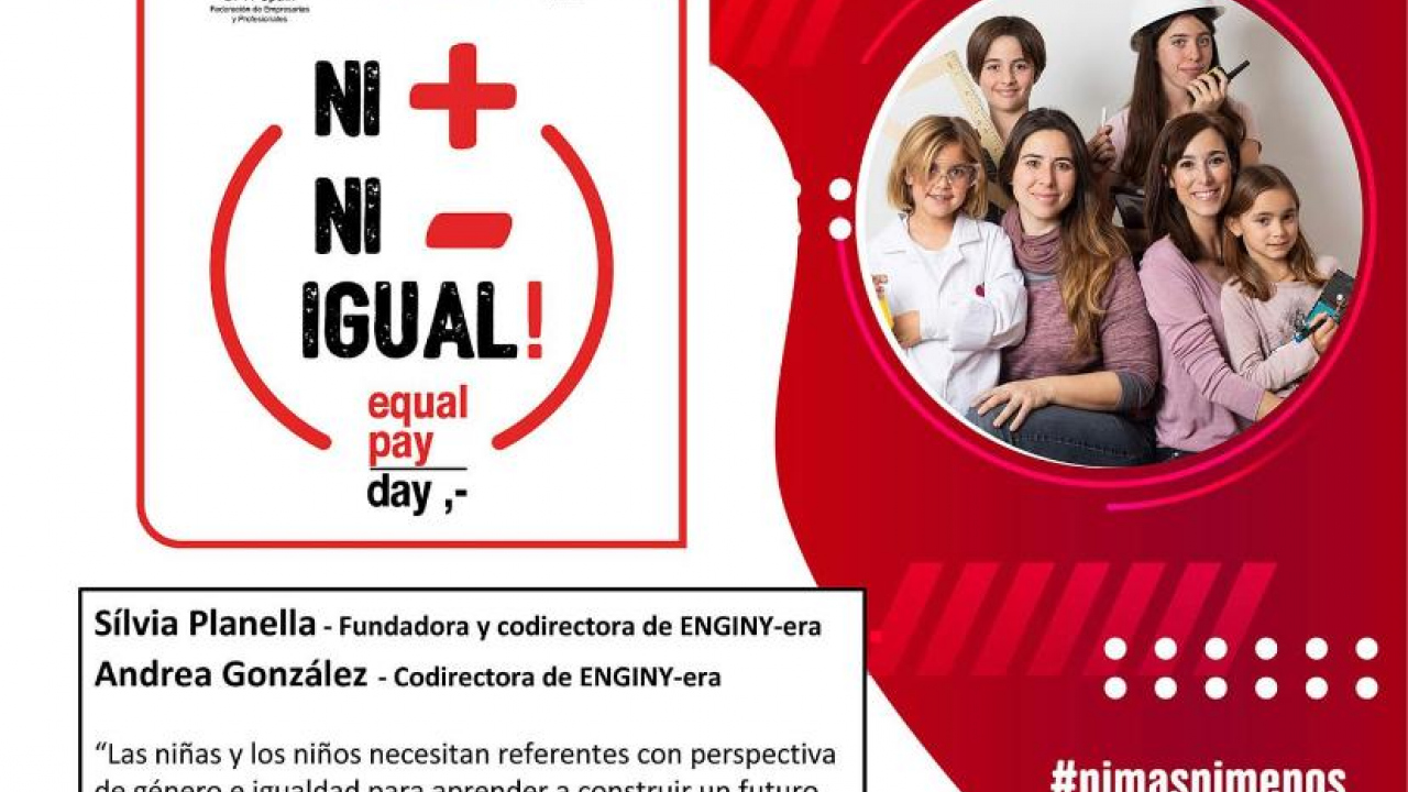 ENGINY-era dóna suport a l'Equal Pay Day