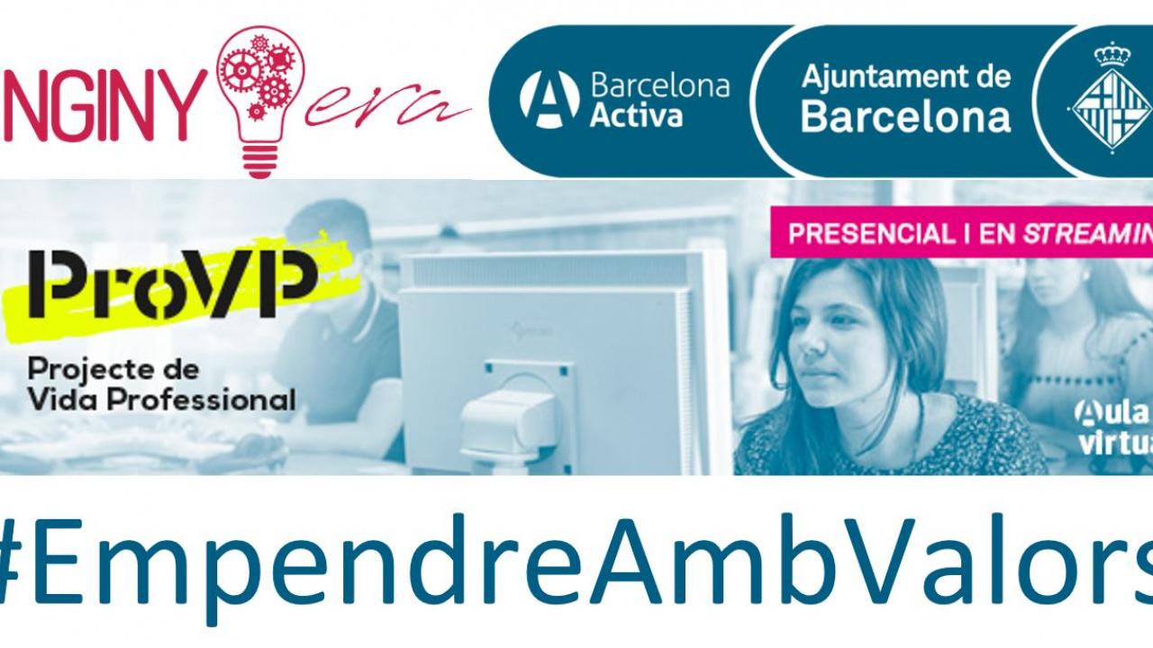 Demà participem com a testimonis a la conferència Emprendre amb Valors de Barcelona Activa