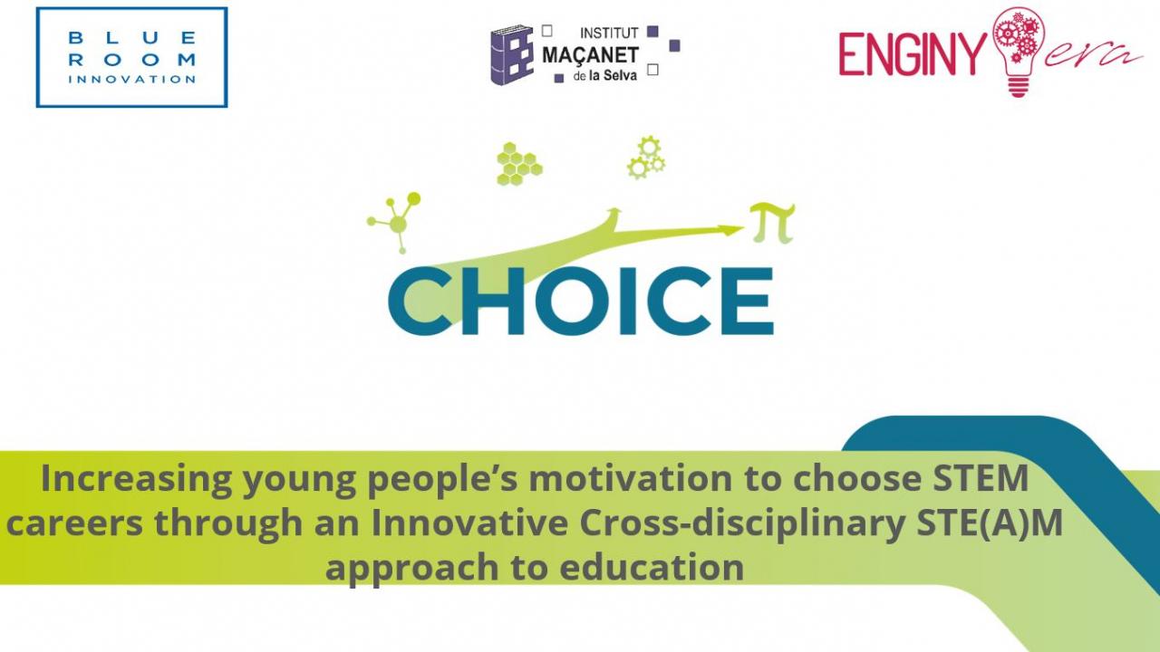 En marxa el projecte educatiu europeu CHOICE en el qual ENGINY-era participa!