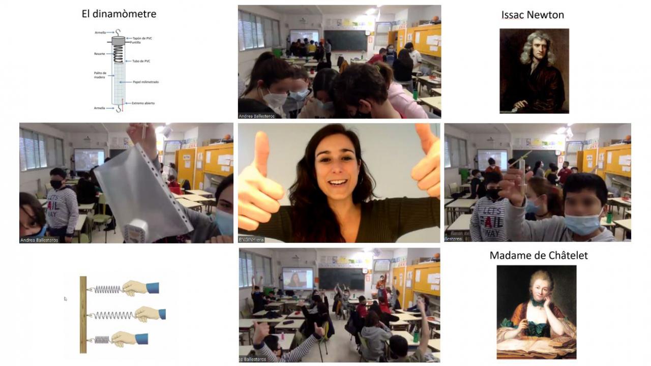 Ahir vam fer el 2on taller a 6è de l'escola Marcel·lí Moragas