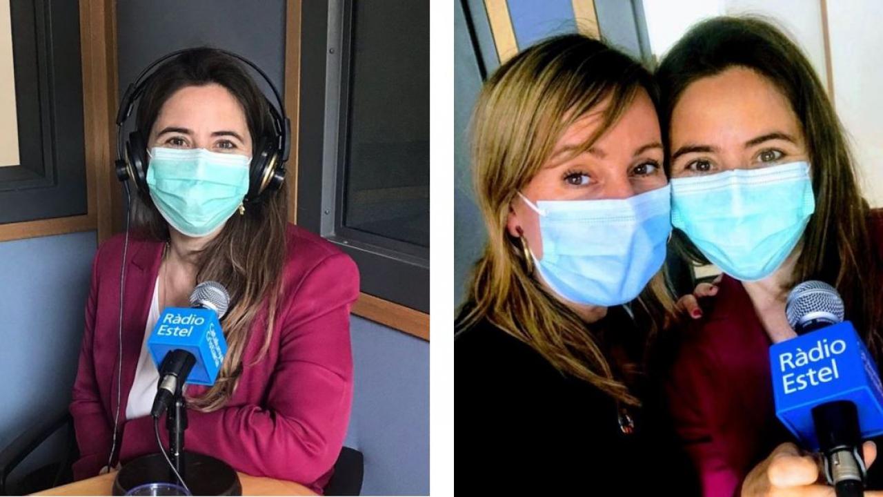 Entrevista de Mireia del Pozo del programa Plusvàlua Dones a Andrea González, codirectora d'ENGINY-era