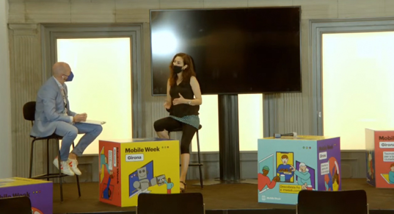 Participació d'ENGINY-era en el programa especial de TV Girona per la MOBILE WEEK GIRONA