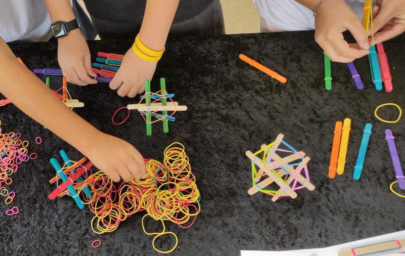 Realitzat, a l'Escola Nou de Quart, el 1er dels tallers del Programa de tallers STEAM amb el suport de Fundació Caixa d'Enginyers
