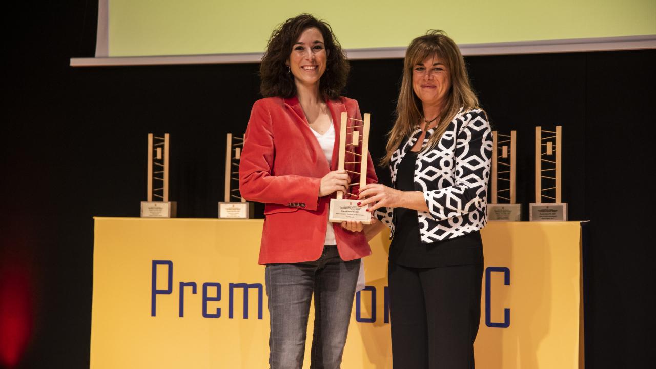 ENGINY-era ha guanyat el Premi Dona TIC a la millor iniciativa d'entitat!!!