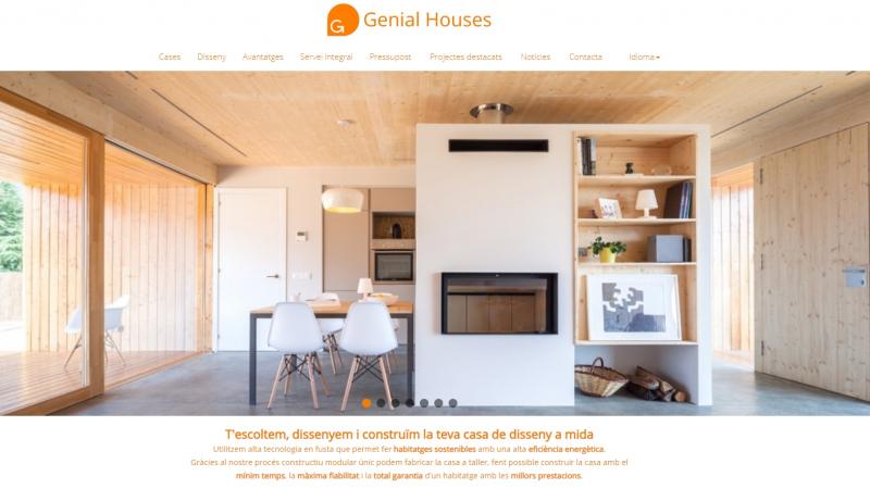 Hem renovat la pàgina web Genial Houses®