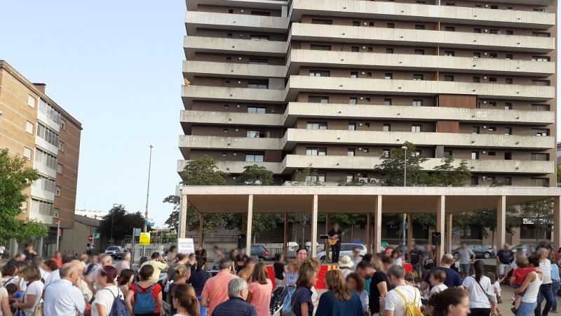 El porxo de Genial Houses® a la festa de Major del barri Devesa-Güell de Girona