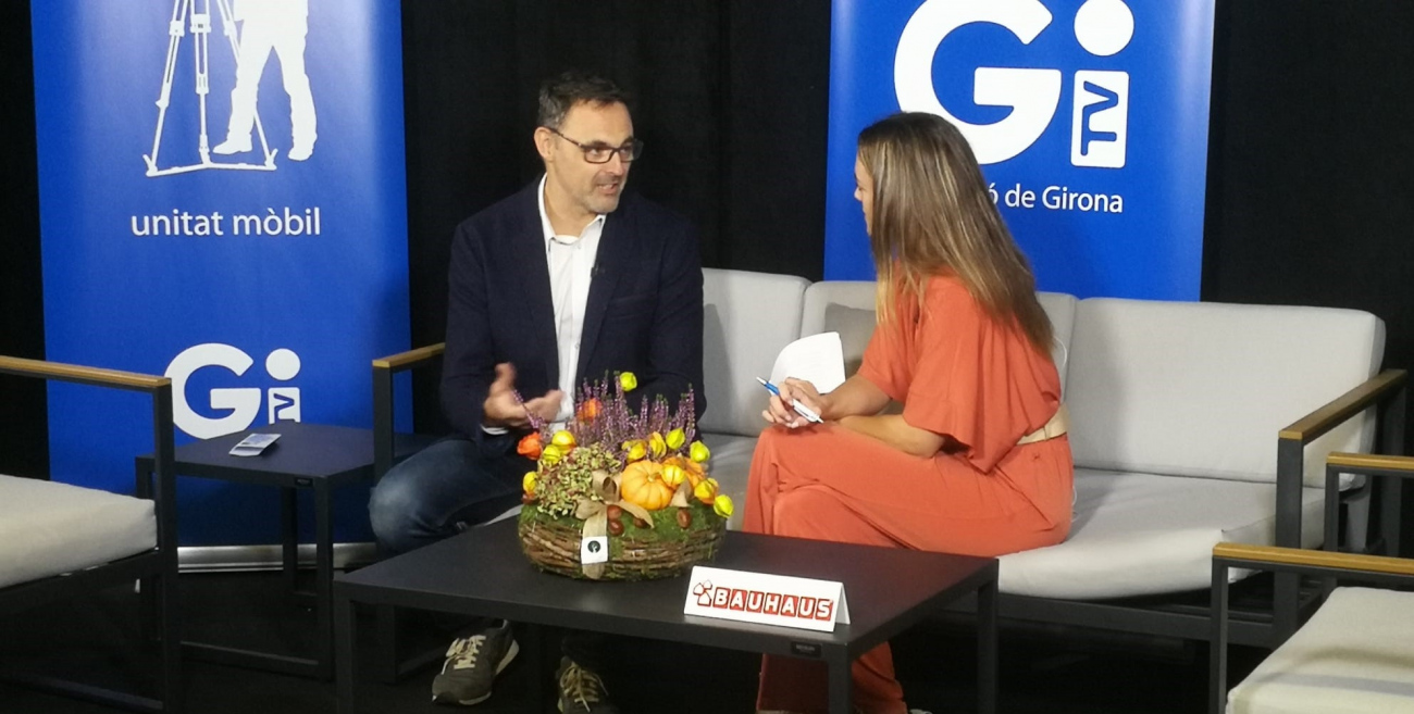 Entrevista de TVGirona a Ricard Turon, gerent de Genial Houses