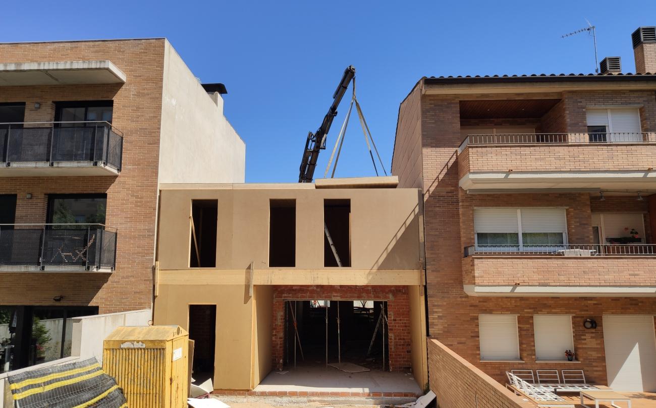 Muntatge d'una #casa en 3 dies / Montaje de una #casa en 3 días