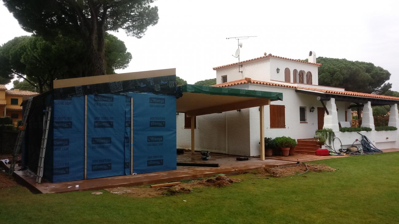 Ampliació d'una #casa unifamiliar #eficient i #sostenible / Ampliación de una casa unifamiliar #eficiente y #sostenible