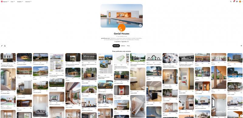 Ara Genial Houses també a Pinterest! / ¡Ahora Genial Houses también en Pinterest!
