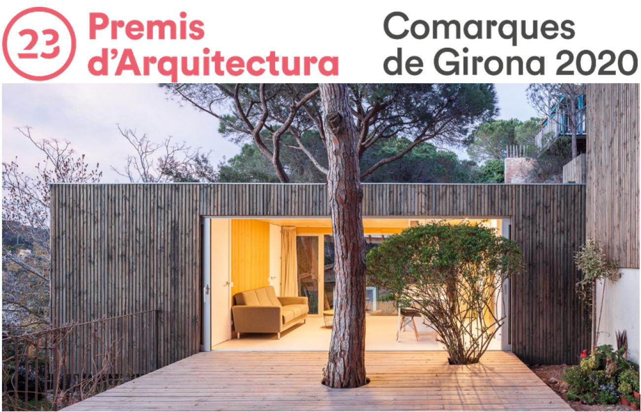 L'obra BUNGALOVE de Genial Houses seleccionada als Premis d'#Arquitectura de les comarques de #Girona! @COACGirona