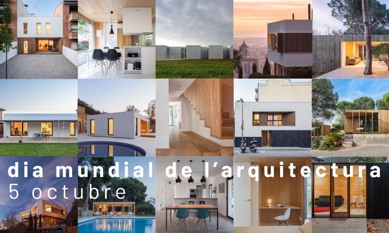Avui celebrem el Dia Mundial de l'Hàbitat i de l'Arquitectura / Hoy celebramos el Día Mundial del Hábitat y de la Arquitectura
