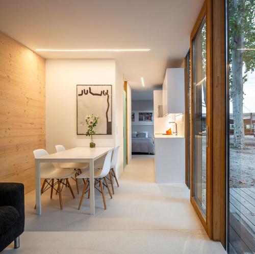 Una casa confortable i eficient en poc metres quadrats
