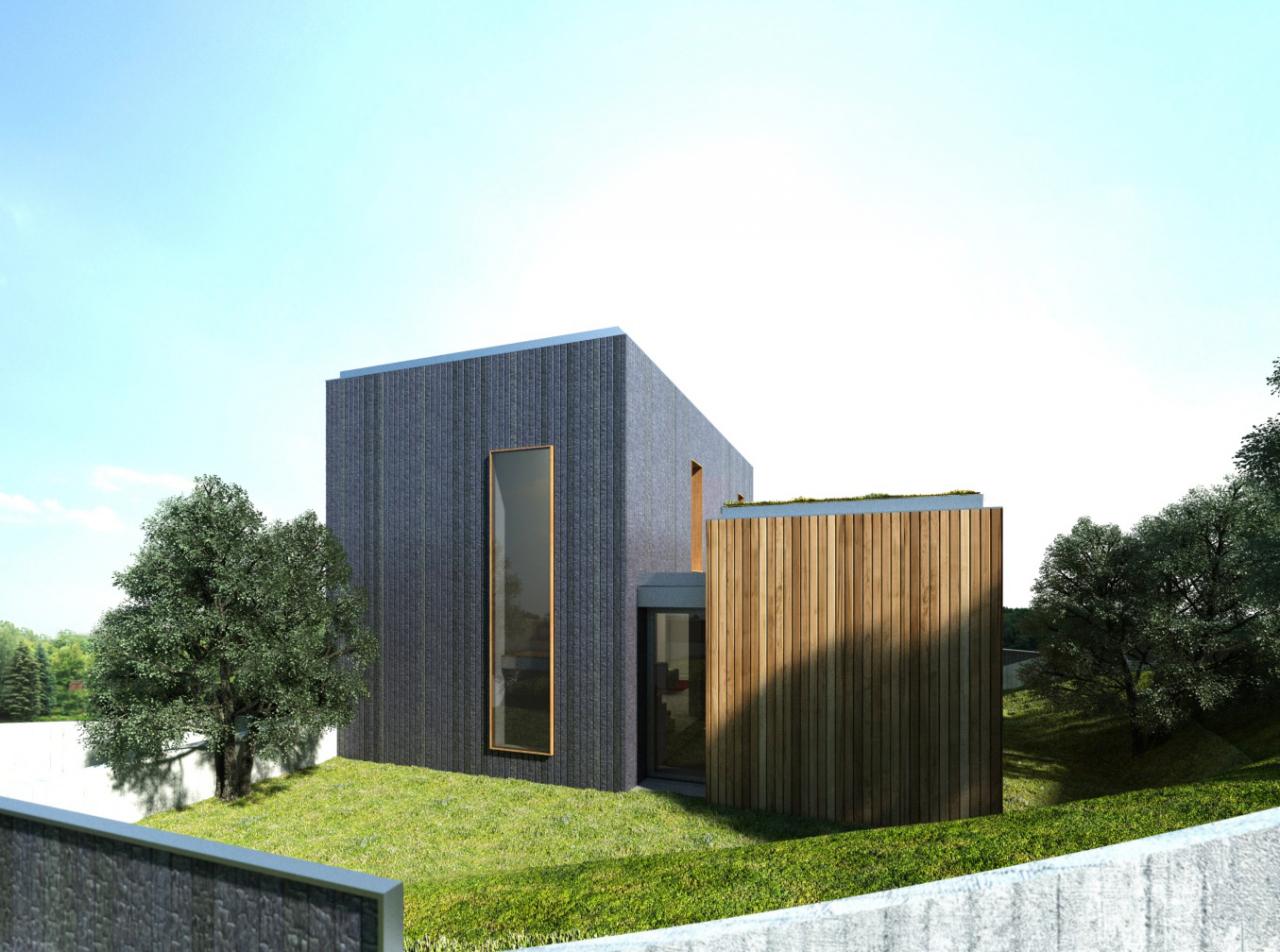 Nou projecte d'un habitatge unifamiliar aïllat #sostenible