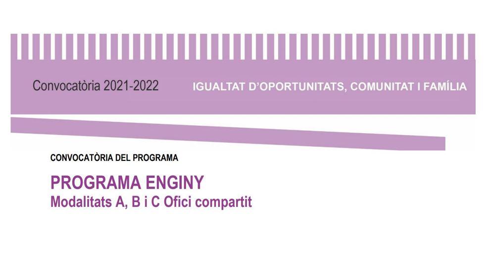 """4. PARTICIPACIÓ EN PROJECTES - 1. Programa ENGINY"""""""