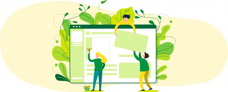 Web i blog ecològic