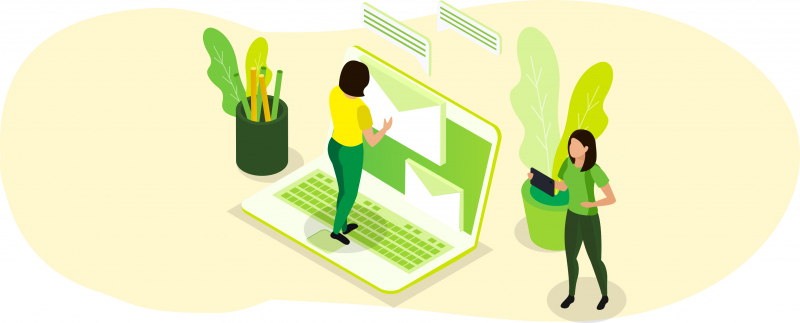 Emails ecològics