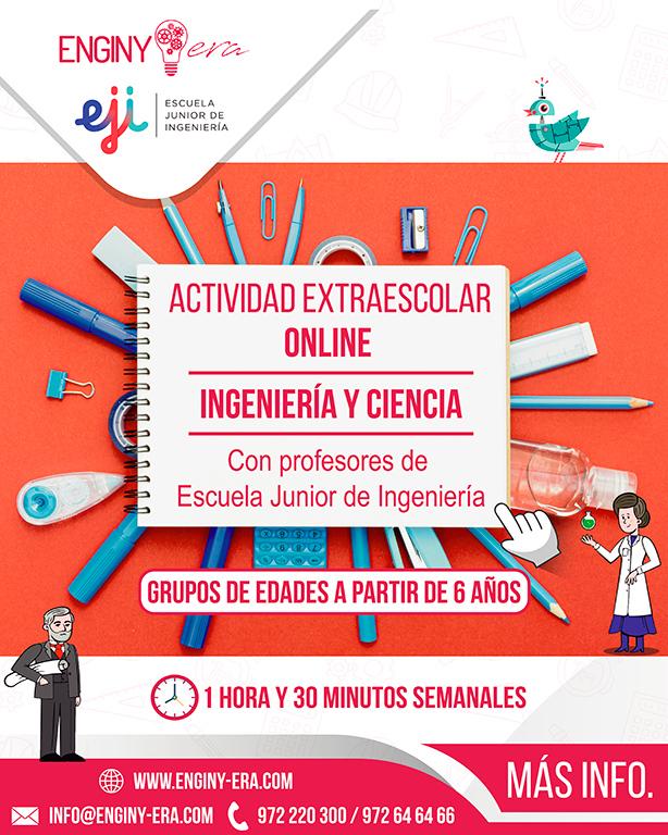 """2. ACTIVITATS - 5. Extraescolar Enginyeria & Ciència"""""""